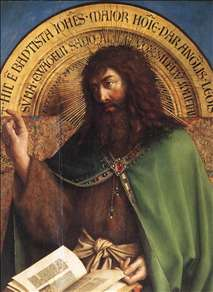 The Ghent Altarpiece: St John the Baptist