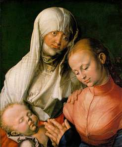 St Anne with the Virgin and Child