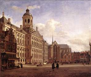 The New Town Hall in Amsterdam