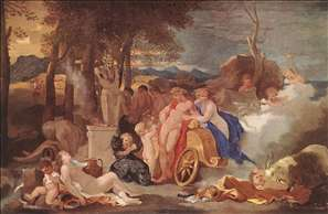 Bacchus and Ceres with Nymphs and Satyrs