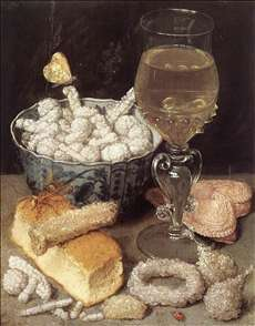 Still-Life with Bread and Confectionary
