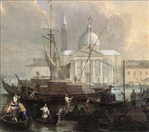 The Sea Custom House with San Giorgio Maggiore