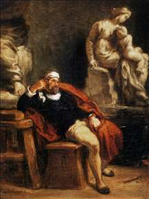 Michelangelo in his Studio