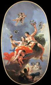 The Triumph of Zephyr and Flora