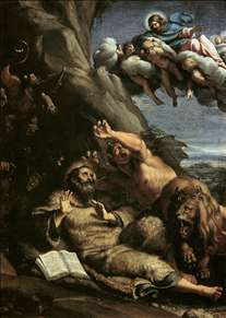 The Temptation of St Anthony Abbot