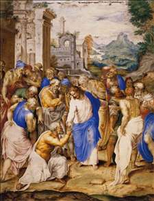 Christ Giving the Keys to St Peter