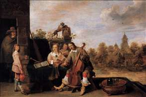 The Painter and His Family