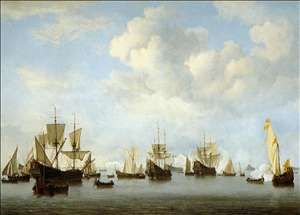 The Dutch Fleet in the Goeree Straits (Guinea)