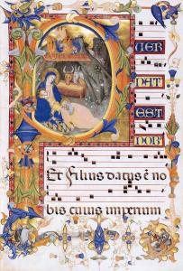 Gradual 1 for San Michele a Murano (Folio 38v)