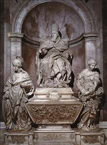 Monument of Pope Leo XI