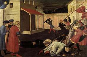 The Martyrdom of St Mark