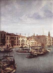 View of the Basilica della Salute