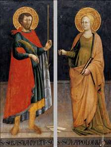 Sts Sebastian and Apollonia