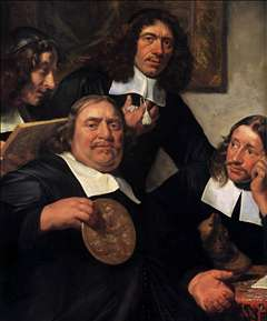The Governors of the Guild of St Luke, Haarlem (detail)