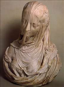 Bust of a Veiled Woman (Puritas)