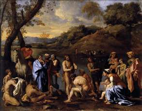 St John the Baptist Baptizes the People