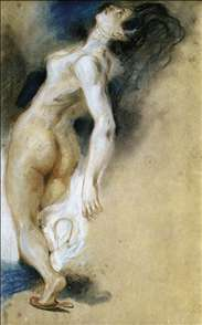 Female Nude, Killed from Behind