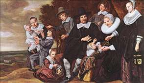 Family Group in a Landscape