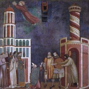 Legend of St Francis: 28. Liberation of the Repentant Heretic