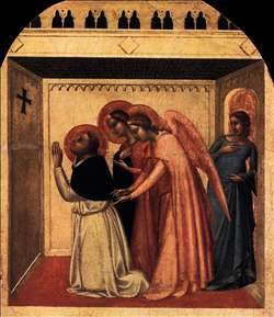 The Temptation of St Thomas Aquinas