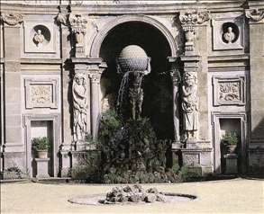 Atlas Fountain