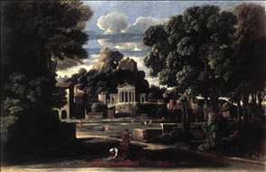 Landscape with the Gathering of the Ashes of Phocion by his Widow