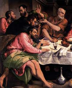 The Last Supper (detail)