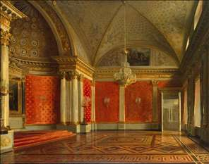 The Peter's Room in the Winter Palace