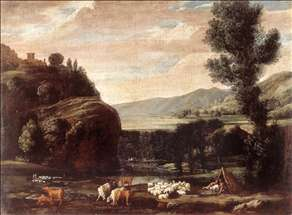 Landscape with Shepherds and Sheep