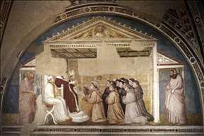 Scenes from the Life of Saint Francis: 5. Confirmation of the Rule
