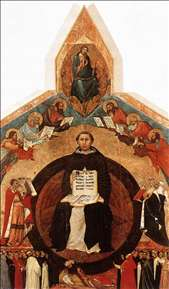 Triumph of St Thomas Aquinas