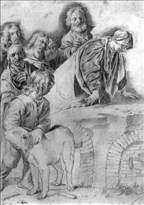 Joseph Receiving His Father and Brothers in Egypt