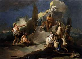 Apollo and Marsyas