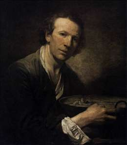 Portrait of Joseph, Model at Art Academy