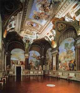 View of the Room of Giovanni da San Giovanni