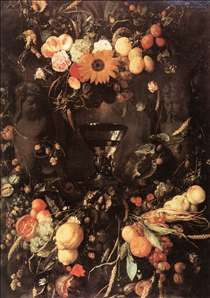 Fruit and Flower Still-Life