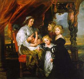 Deborah Kip and her Children