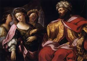 Esther before Ahasuerus
