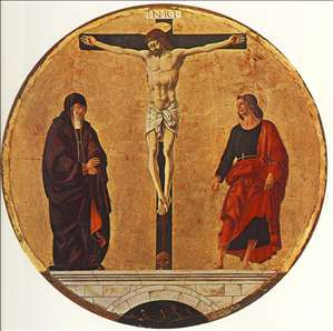 Griffoni Polyptych: The Crucifixion