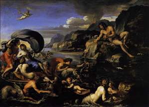 Acis, Galatea, and Polyphemus