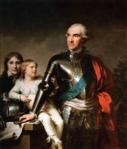 Count Stanislas Felix Potocki and his Two Sons