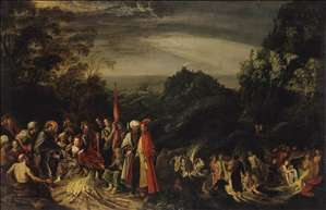 Miracle of St Paul on the Island of Malta
