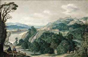 Extensive Landscape with the Flight into Egypt