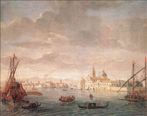 The Island of San Michele, Looking toward Murano