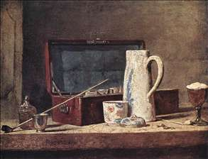 Still-Life with Pipe an Jug
