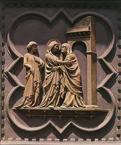 The Visitation (panel of the south doors)