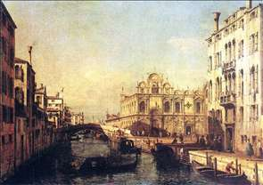 Rio dei Mendicanti with the Scuola di San Marco