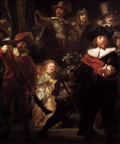 The Nightwatch (detail)