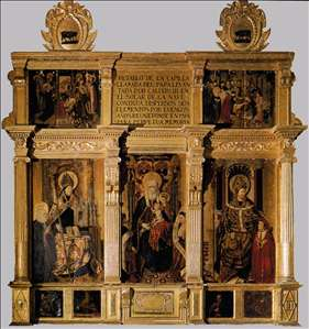 Retable of St Anne