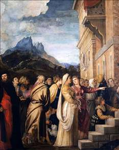 Presentation of the Virgin at the Temple (detail)